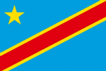 CONGO (DR) (2006 ONWARDS) - HAND WAVING FLAG (MEDIUM)